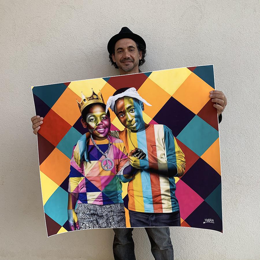 Print B.I.G. & Tupac
