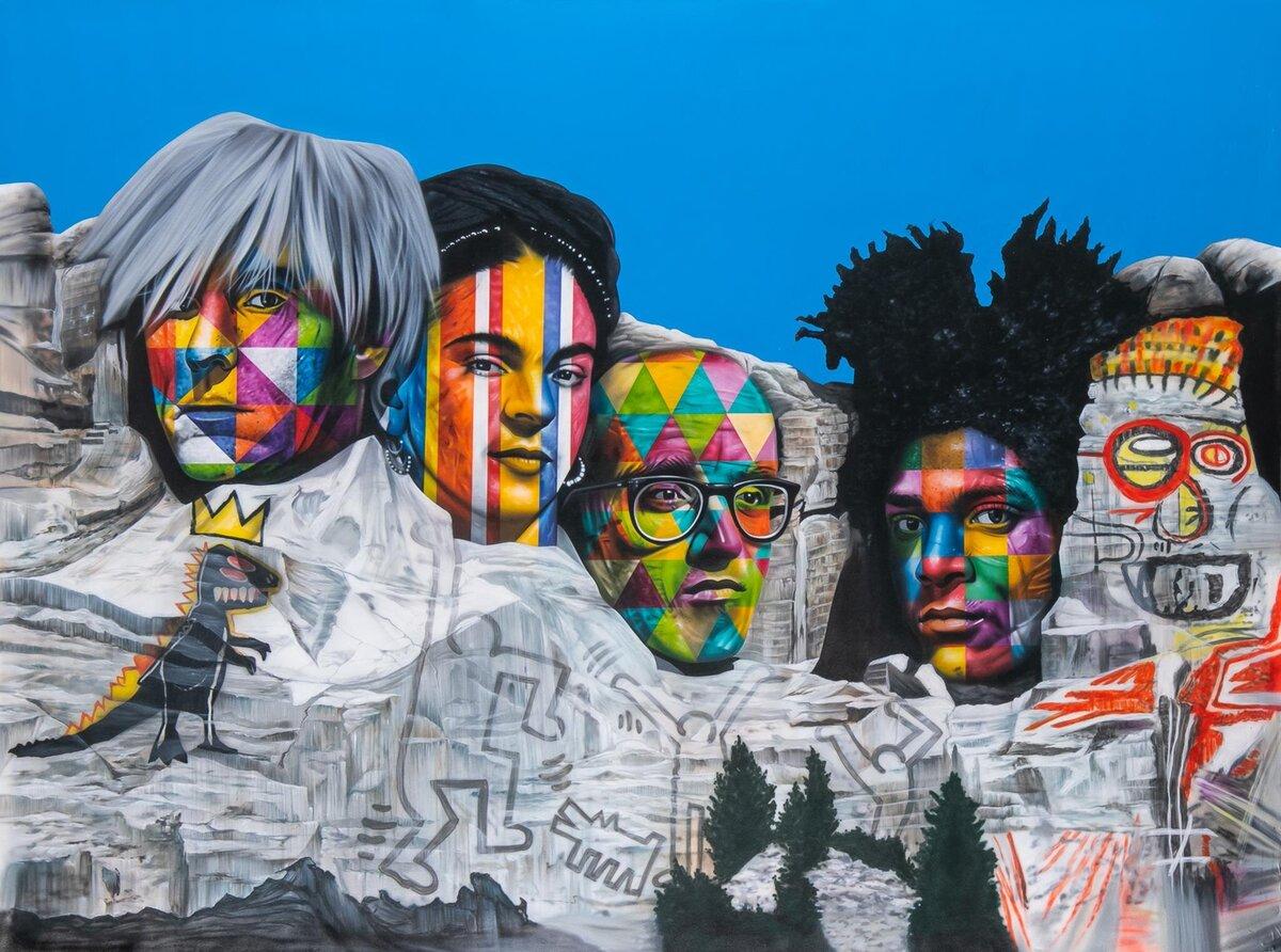 Monte Rushmore, 2019
